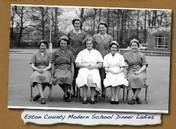 ECM School Dinner Ladies - Click On This for Larger Image  			(Opens in New Window)