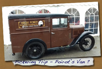 Normanby LHG Trip to Pickering - Poirot's Van