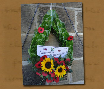 Normanby War Memorial Wreath