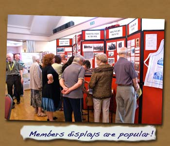 Members displays are popular