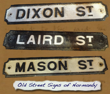 DExhibition 2016 Old Normanby Street Signs