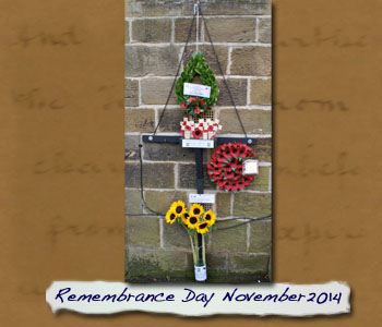 Normanby War Memorial Wreaths 2014