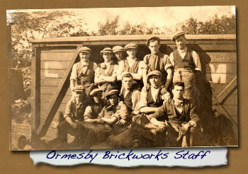 Ormesby Brickworks Staff - Click On This for Larger Image 			(Opens in New Window)