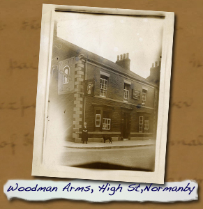 Woodman Arms, High St, Normanbty