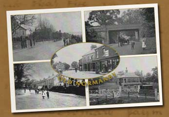Postcard 2 of 5 pics of Old Normanby